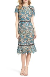 Shoshanna Women's Octavia Lace Midi Dress