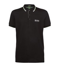 Hugo Boss Green Paule Pro Neon Trim T Shirt Male Black