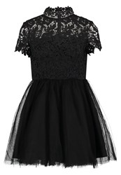 Chi Chi London Petite Bronte Cocktail Dress Party Dress Black