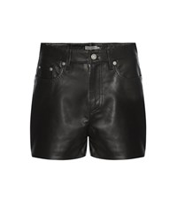 Calvin Klein Jeans Mytheresa.Com Exclusive Leather Skirts Black