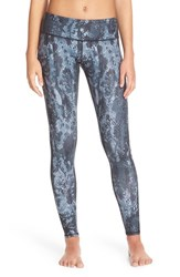 Alo Yoga Women's Alo 'Airbrushed' Glossy Leggings Black Python