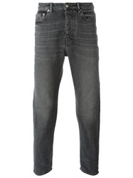 Golden Goose Deluxe Brand Washed Jeans Grey