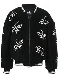 Haculla Facez Bomber Jacket Black