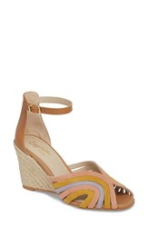 Seychelles Consciousness Wedge Sandal Pastel Multi Suede
