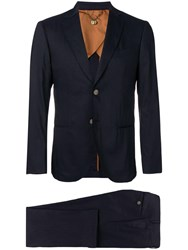 Maurizio Miri Christian Two Piece Suit Blue