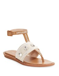 French Connection Indu Beaded Sandals Safari