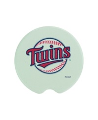 Memory Company Minnesota Twins 2 Piece Car Coaster Set