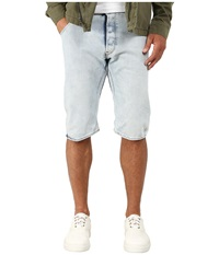 G Star Arc 3D Wisk Denim Shorts In Light Aged Light Aged Men's Shorts Blue