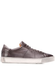 Santoni Low Top Trainers Grey