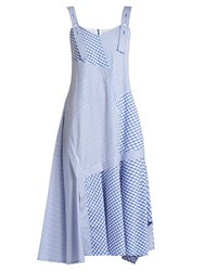 Sportmax Tanga Dress Blue White