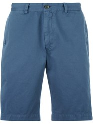 Sunspel Classic Chino Shorts Blue