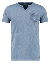 Petrol Industries Print Tshirt Blue Grey