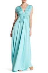 Rachel Pally Sleeveless Maxi Dress Blue