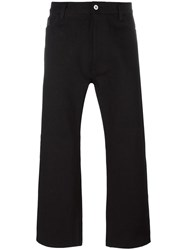 Junya Watanabe Comme Des Garcons Man Loose Fit Jeans Black