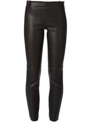 Stouls Cropped Leather Trousers 60