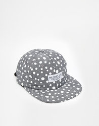 The Quiet Life Dotted Strapback Cap White