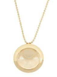 Aygeya Ancient Moon Medallion Necklace