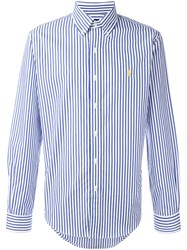 Polo Ralph Lauren Fine Stripe Shirt Blue