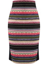 Cecilia Prado Knitted Pencil Skirt Black