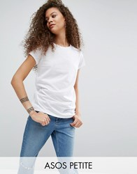 Asos Petite The Ultimate Crew Neck T Shirt White