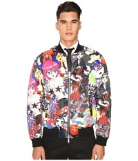 Dsquared All Over Printed Manga Puff Bomber Mix Colours