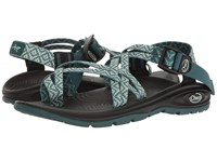 Chaco Z Volv X2 Festoon Teal Women's Shoes Green