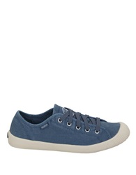 Palladium Cotton Canvas Sneakers Blue