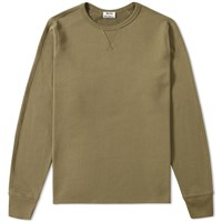 Acne Studios Fun Crew Sweat Green