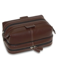 Dopp Kit The First Class Collection Country Saddle Travel Kit Brown