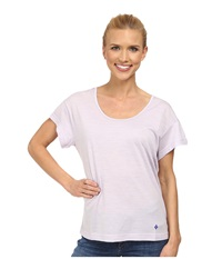 Black Diamond Ancient Art Tee Pale Lavender Women's T Shirt Purple