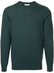 Gieves And Hawkes Knitted Jumper Green