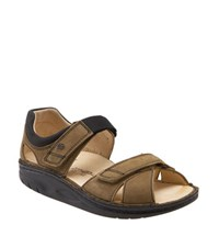 Women's Finnamic By Finn Comfort 'Samara' Walking Sandal Brown Black
