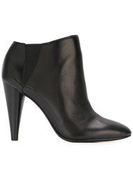 Ash 'Beverly' Ankle Boots Black