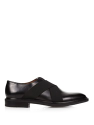Givenchy Elastic Straps Leather Derby Shoes