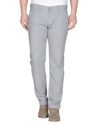 S D Side Casual Pants Light Grey