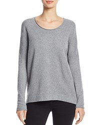 French Connection Viva Vhari Scoop Neck Sweater Mid Gray Melange