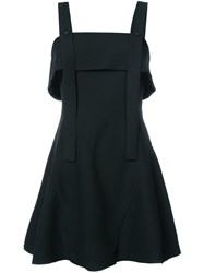 C Meo Collective Flared Mini Dress Polyester M Black