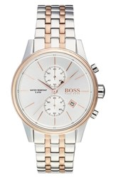 Boss 'Jet' Chronograph Bracelet Watch 41Mm