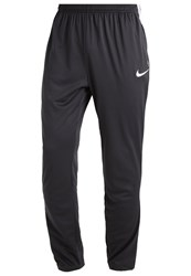 Nike Performance Academy Tracksuit Bottoms Anthracite Anthracite White White