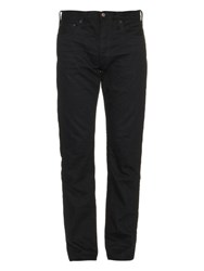 Simon Miller M002 Gulf Resin Slim Fit Jeans Dark Blue