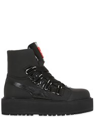 Fenty X Puma 40Mm Nubuck Leather Ankle Boots