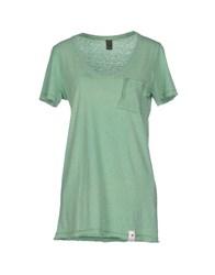 Jijil Topwear T Shirts Women Green