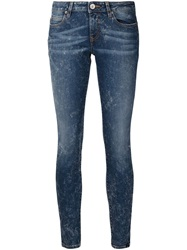 Vivienne Westwood Anglomania 'Ar' Skinny Jeans Blue