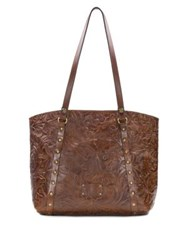 Patricia Nash Firenze Leather Tote Whiskey