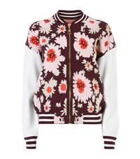 Juicy Couture Embellished Floral Jacquard Jacket Female Red
