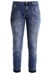 Sisley Straight Leg Jeans Denim Blue Blue Denim
