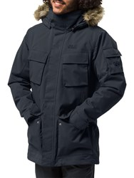 Jack Wolfskin Glacier Canyon Insulated 'S Waterproof Parka Blue