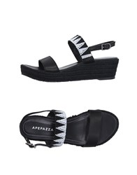 Apepazza Footwear Espadrilles Women Black