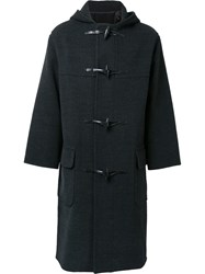 H Beauty And Youth Single Breasted Duffle Coat Grey