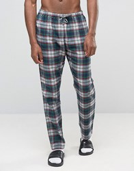 Esprit Pyjamas In Check Navy